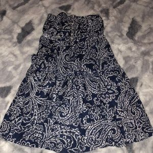American Eagle Outfitters strapless sun dress 6